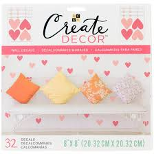 Shop Dcwv Create Decor Removable Wall Decals 8 X8 Heart Confetti 8 Sheets Free Shipping On Orders Over 45 Overstock 18879401