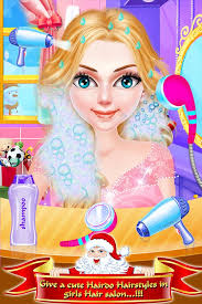 s makeup hair salon dressup games