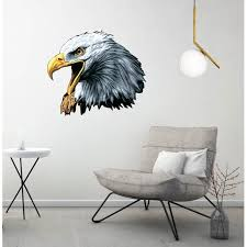 Bald Eagle Wall Decal Wall Decoration Sticker Sticker 22 Walmart Com Walmart Com