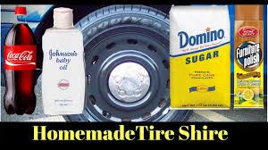 diy homemade 1 tire shine for
