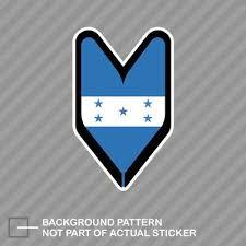 Jdm Driver Badge Honduras Honduran Car Decal Flag Not Vinyl Sticker Car Truck Decals Emblems License Frames Moonnepal Com