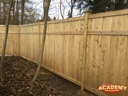 Maplewood Fence Installations Academy Fence Company