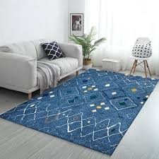 Kids Bedroom Play Tent Area Rugs Nordic Style Dark Blue Home Decor Children Carpets Living Room Sofa Chair Anti Slip Floor Mat Tigressa Carpet Shaw Carpet Tiles From Orvieschina002 64 52 Dhgate Com