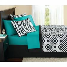 queen size comforter set 8 pieces aqua