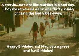 top birthday quotes for sister in law images