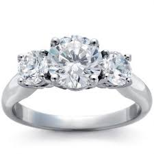 stone diamond ring or pendant represent