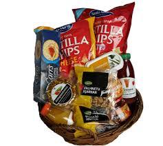snack cheese nuts gift basket Í húsi