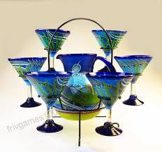 mexican margarita martini glasses and