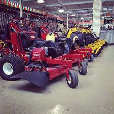 lawn mowers ready for action great