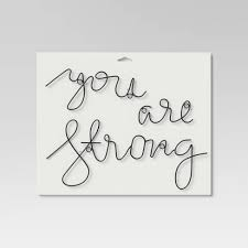 You Are Strong Wall Decal Black Project 62 Target