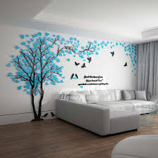 Wall Decals For Bedroom Tree Decoraive Personalised Home 3d