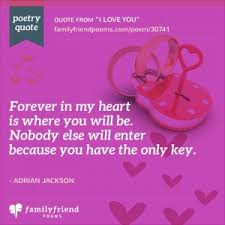 42 i love you poems for him and her