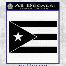 Puerto Rico Flag Decal Sticker A1 Decals