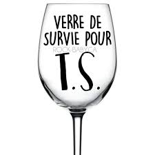Cup Decal Survival Glass For T S Wine Glass Sticker Decal Etsy