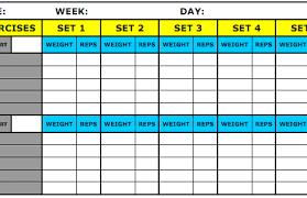 excel workout tracker keen rsd7 org