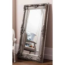 bella casa vicky mirror in silver
