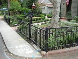 Front Yard Metal Fences Acnn Decor