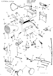 91725371 front engine lawn tractor