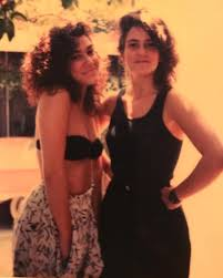 Susannah and Wendy in Los Angeles in 1984. - Music by Wendy Melvoin and  Lisa Coleman   Facebook