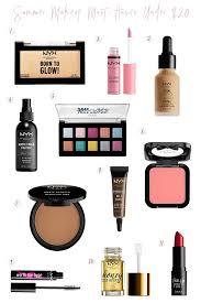 summer makeup must haves under 20