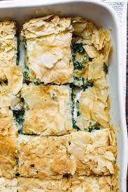 spanakopita recipe greek spinach pie