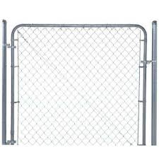 Chain Link Fence Gates Chain Link Fencing The Home Depot