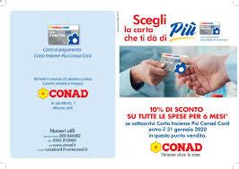 Conad - Milano catalogo (19/10/2019 - 31/01/2020)
