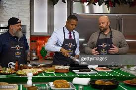 Craig Melvin, Ryan Fey and Mark Anderson on Friday, December 7, 2018...  News Photo - Getty Images