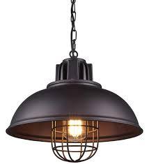 industrial style metal pendant light