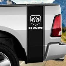 Ram 1500 Rear Bed Vinyl Decal Rally Stripes Truck Graphics Mopar Rt Hemi 5 7 Ebay