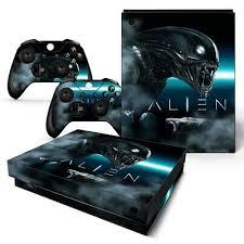 Xbox One X Console Skin Decal Sticker Alien Movie Custom 2 Controller Skins 743031187325 Ebay