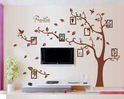 Buy Amaonm Reg Removable Giant Brown Family Photo Frame Tree Wall Decals Huge Family Picture Wall Stciker Murals Peel Stick For Kids Bedroom Livingroom Girls Room Playroom Home Art Decor Decorations Left In