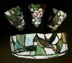 stained glass hampton bay ceiling fan