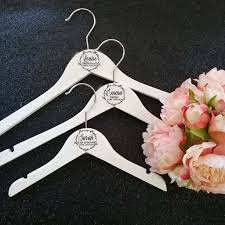 Personalised Wedding Hanger Decals Personal Touch To Your Wedding