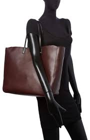 Sandro Adela Brown Leather Tote - Tradesy