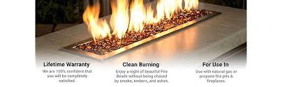american fireglass fire beads fireplace