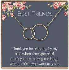 com dear ava best friend necklace bff necklace jewelry