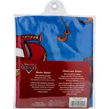 Disney Cars Boys Bedroom Curtain Valance Walmart Com Walmart Com
