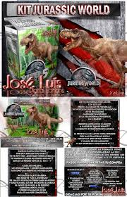 Jurassic World Dinosaurios Invitaciones Kit Imprimible Jose