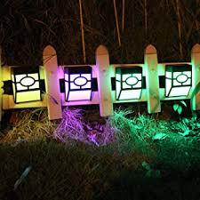 Explore Solar Lights For Fences Amazon Com