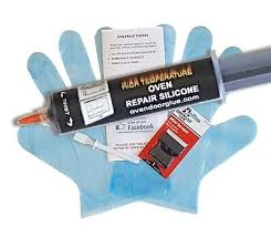 glass door window glue sealant kit