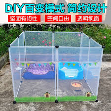 8 Pcs Pet Transparent Fence Belt Small Pets Playpen Indoor Outdoor Yard Fence For Dog Guinea Pigs Rabbit Puppy Tent Portable Fence For Dogs Pet Playpenoutdoor Pet Fence Aliexpress