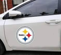 Amazon Com Pqzqmq Pittsburgh Steelers Football Decal Car Decal Pittsburgh Steelers Car Stickers Pittsburgh Steelers Decal Stickers For Cars Pittsburgh Steelers Wall Decal Sticker Home Kitchen