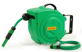 auto rewind water garden hose reel