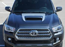 2015 2020 Toyota Tacoma Sport Hood Decal Trd Sport Pro Graphic Stripe Auto Motor Stripes Decals Vinyl Graphics And 3m Striping Kits