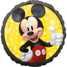 Standard Mickey Mouse Forever Foil Balloon S60 packaged : Amscan ...