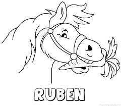 Ruben Naam Kleurplaten