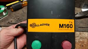 Gallagher Electric Fence Charger Review Gallagher M160 M120 M100 M60 M50 M30 M20 M10 Youtube