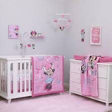 baby minnie mouse crib bedding set 4