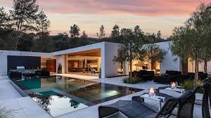 contemporary single story spec house